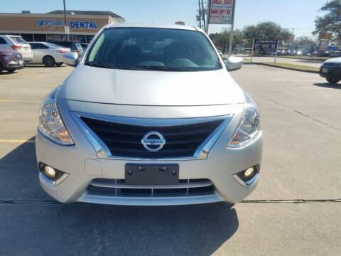 2019 Nissan Versa for sale at Nation Auto Cars in Houston TX