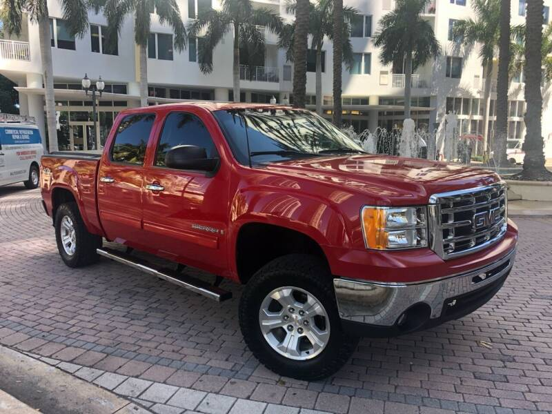 2007 GMC Sierra 1500 for sale at Florida Cool Cars in Fort Lauderdale FL