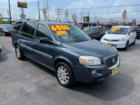 2006 Buick Terraza for sale at Texas 1 Auto Finance in Kemah TX