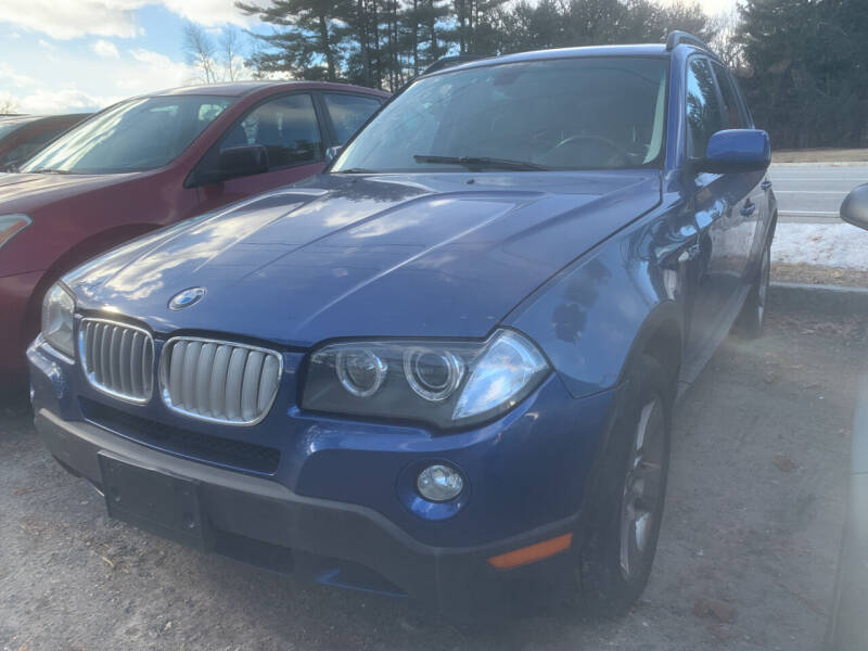 2007 BMW X3 for sale at Official Auto Sales in Plaistow NH