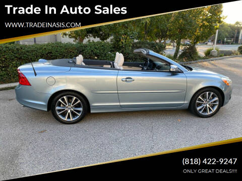 2013 Volvo C70 for sale at Trade In Auto Sales in Van Nuys CA