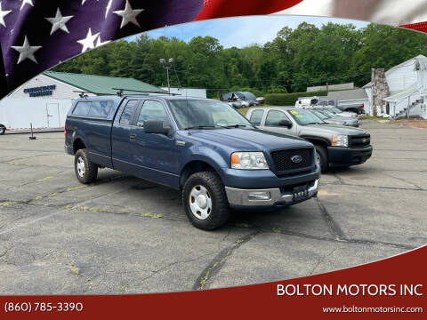 2005 Ford F-150 for sale at BOLTON MOTORS INC in Bolton CT