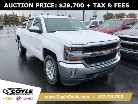 2018 Chevrolet Silverado 1500 for sale at COYLE GM - COYLE NISSAN in Clarksville IN