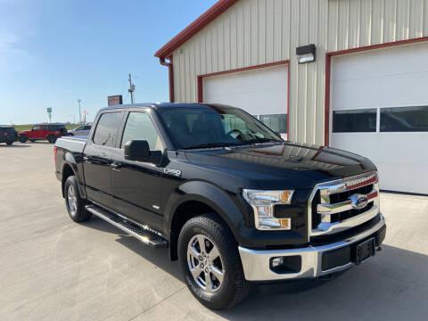 2015 Ford F-150 for sale at SCOTT LEMAN AUTOS in Goodfield IL