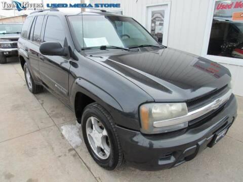 2003 Chevrolet TrailBlazer for sale at TWIN RIVERS CHRYSLER JEEP DODGE RAM in Beatrice NE