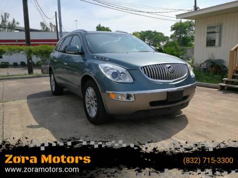 2010 Buick Enclave for sale at Zora Motors in Houston TX