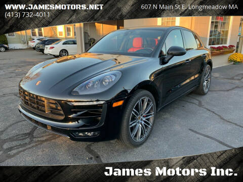2017 Porsche Macan for sale at James Motors Inc. in East Longmeadow MA