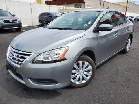 2014 Nissan Sentra for sale at Auto Center Of Las Vegas in Las Vegas NV