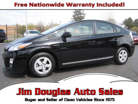 2011 Toyota Prius for sale at Jim Douglas Auto Sales in Pontiac MI