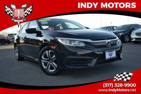 2018 Honda Civic for sale at Indy Motors Inc in Indianapolis IN