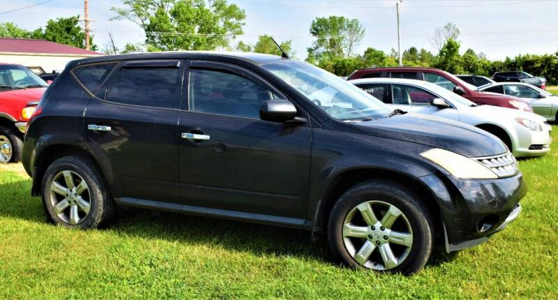 2006 Nissan Murano for sale at PINNACLE ROAD AUTOMOTIVE LLC in Moraine OH