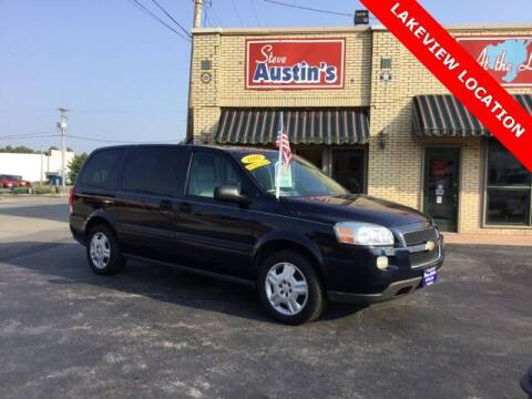 2007 Chevrolet Uplander for sale at Austins At The Lake in Lakeview OH
