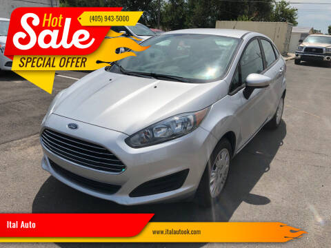 2017 Ford Fiesta for sale at Ital Auto in Oklahoma City OK