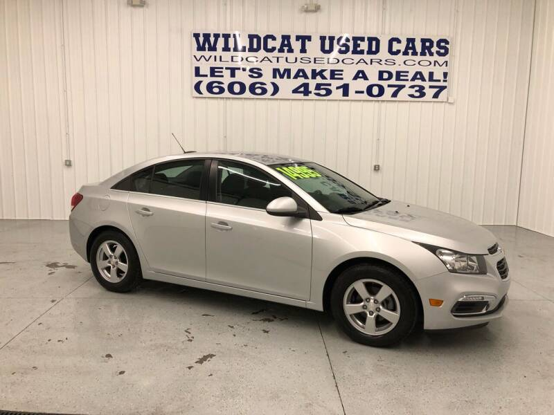 2016 Chevrolet Cruze Limited for sale at Wildcat Used Cars in Somerset KY