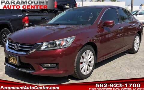 2014 Honda Accord for sale at PARAMOUNT AUTO CENTER in Downey CA
