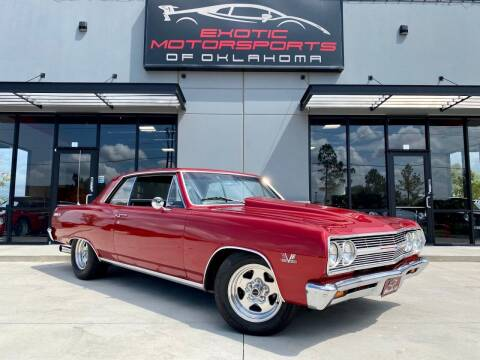 1965 Chevrolet Malibu for sale at Exotic Motorsports of Oklahoma in Edmond OK