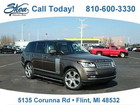 2014 Land Rover Range Rover for sale at Jamie Sells Cars 810 - Linden Location in Flint MI