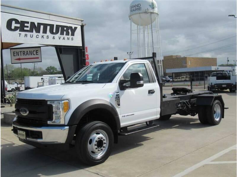 2017 Ford F-550 Super Duty for sale at CENTURY TRUCKS & VANS in Grand Prairie TX