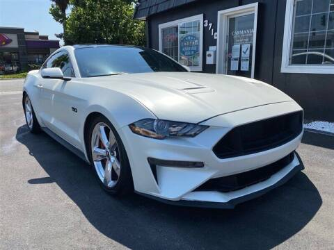2018 Ford Mustang for sale at Carmania of Stevens Creek in San Jose CA