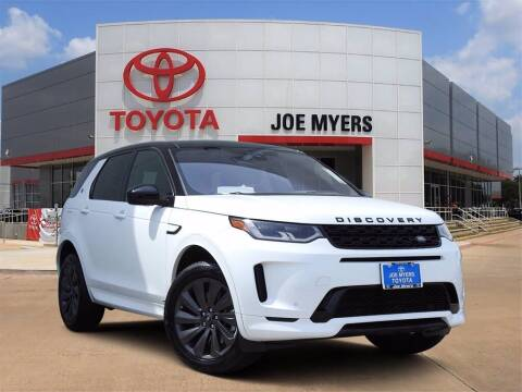 2020 Land Rover Discovery Sport for sale at Joe Myers Toyota PreOwned in Houston TX