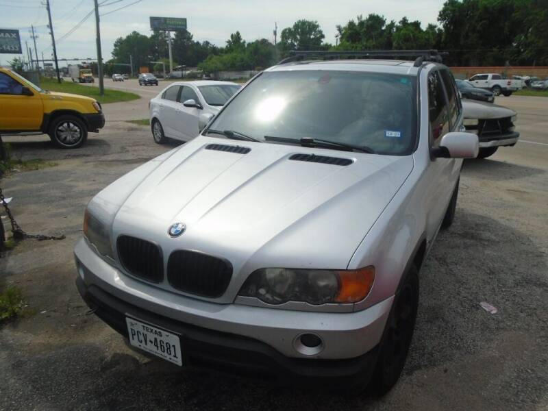 2002 BMW X5 for sale at SCOTT HARRISON MOTOR CO in Houston TX