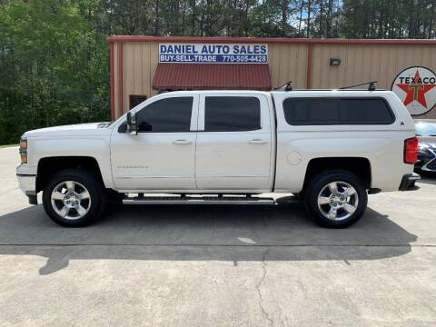 2015 Chevrolet Silverado 1500 for sale at Daniel Used Auto Sales in Dallas GA