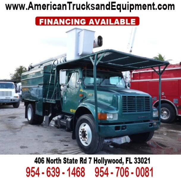 1999 International 4900 for sale at American Trucks and Equipment in Hollywood FL