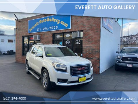 2015 GMC Acadia for sale at Everett Auto Gallery in Everett MA