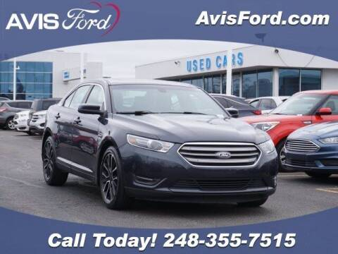 2017 Ford Taurus for sale at Work With Me Dave in Southfield MI