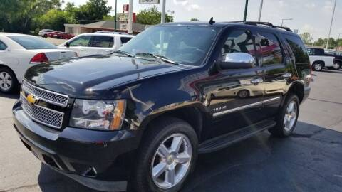 2014 Chevrolet Tahoe for sale at Advantage Auto Sales & Imports Inc in Loves Park IL