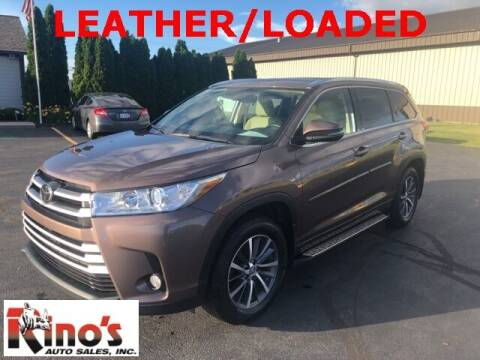 2017 Toyota Highlander for sale at Rino's Auto Sales in Celina OH