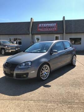 2006 Volkswagen GTI for sale at Stephen Motor Sales LLC in Caldwell OH