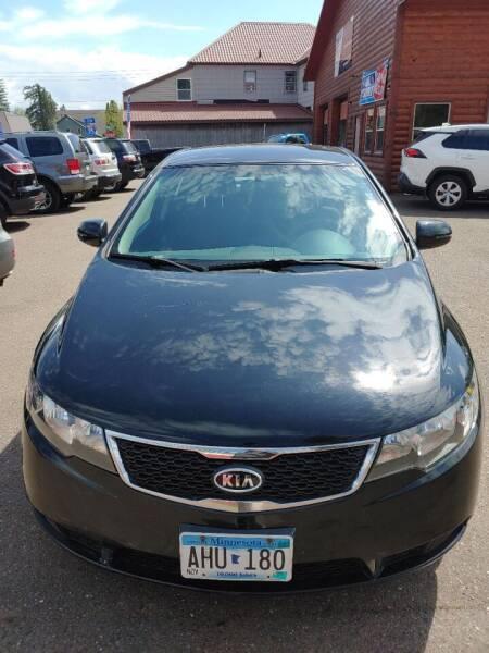 2011 Kia Forte5 for sale at WB Auto Sales LLC in Barnum MN