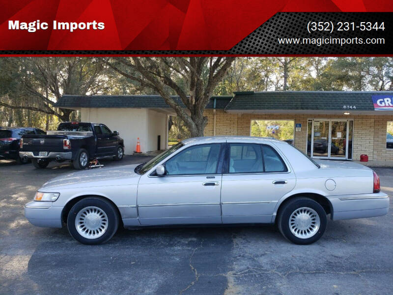 2000 Mercury Grand Marquis for sale at Magic Imports in Melrose FL