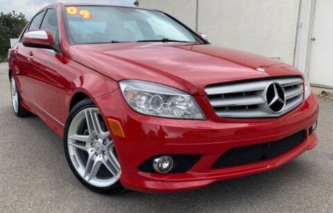 2009 Mercedes-Benz C-Class for sale at BORGES AUTO CENTER, INC. in Taunton MA