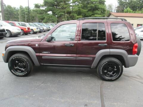 2004 Jeep Liberty for sale at Home Street Auto Sales in Mishawaka IN