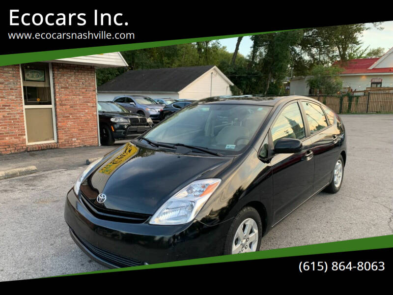2005 Toyota Prius for sale at Ecocars Inc. in Nashville TN