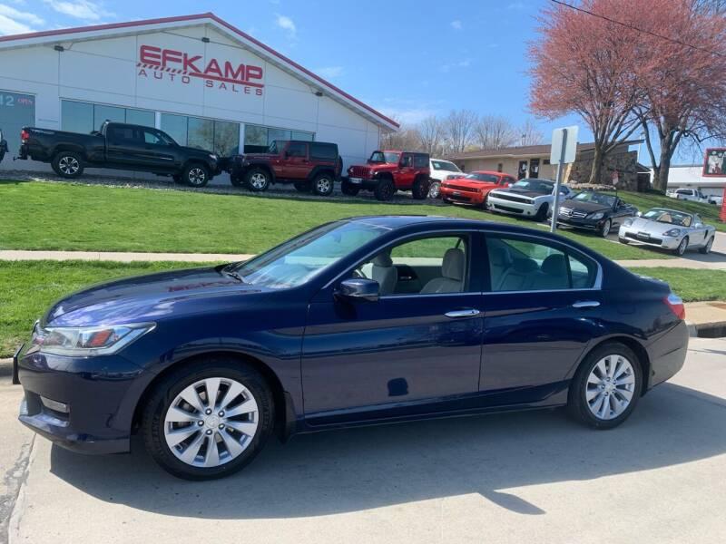 2014 Honda Accord for sale at Efkamp Auto Sales LLC in Des Moines IA