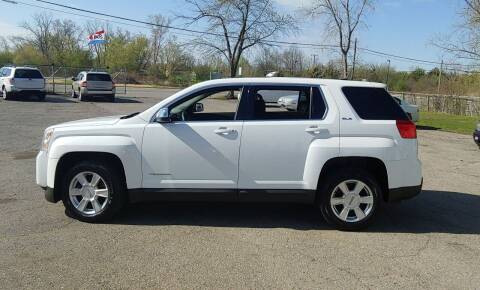 2012 GMC Terrain for sale at Superior Motors in Mount Morris MI