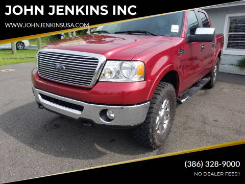 2008 Ford F-150 for sale at JOHN JENKINS INC in Palatka FL