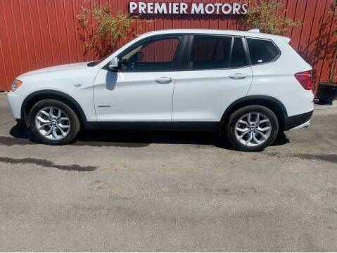 2014 BMW X3 for sale at Premier Motors in Milton Freewater OR