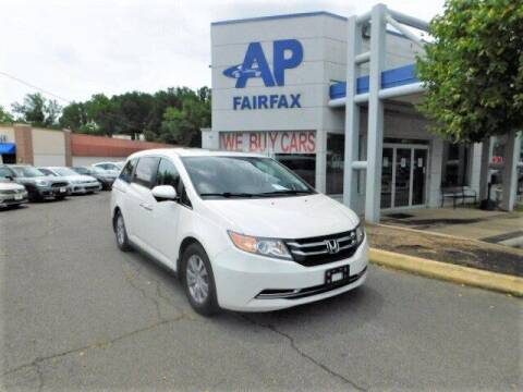 2014 Honda Odyssey for sale at AP Fairfax in Fairfax VA