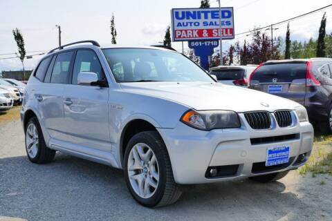 2006 BMW X3 for sale at United Auto Sales in Anchorage AK