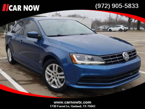 2018 Volkswagen Jetta for sale at Car Now in Dallas TX