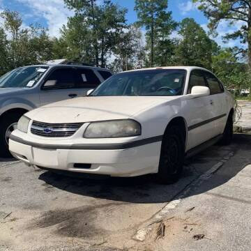 2002 Chevrolet Impala for sale at CARZ4YOU.com in Robertsdale AL