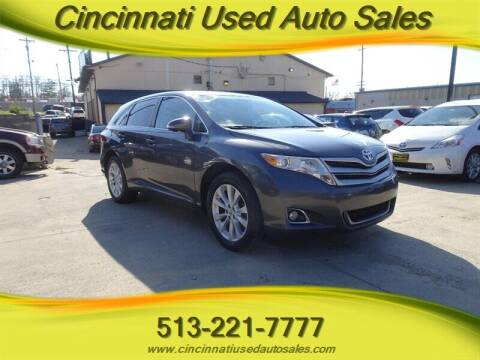 2014 Toyota Venza for sale at Cincinnati Used Auto Sales in Cincinnati OH