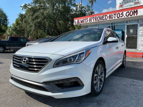 2015 Hyundai Sonata for sale at Always Approved Autos in Tampa FL