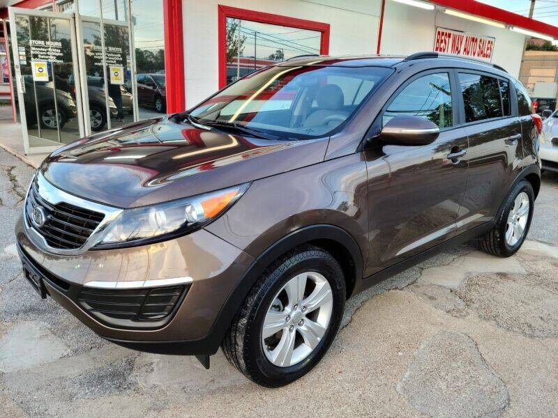 2011 Kia Sportage for sale at Best Way Auto Sales II in Houston TX