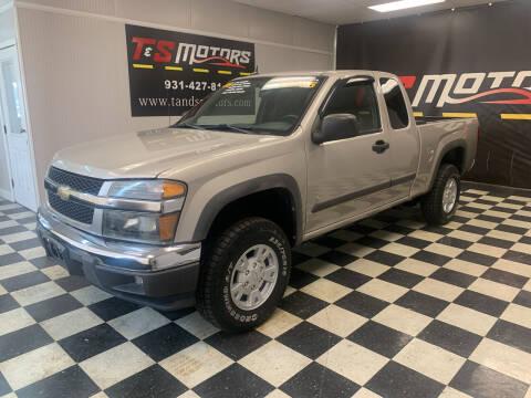 2008 Chevrolet Colorado for sale at T & S Motors in Ardmore TN