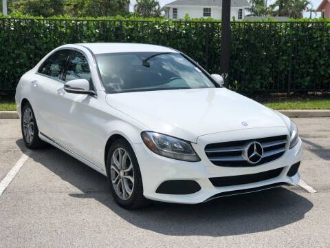 2017 Mercedes-Benz C-Class for sale at CAR UZD in Miami FL